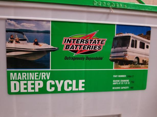 Interstate Deep Cycle Battery (New) Rural Regina, Regina