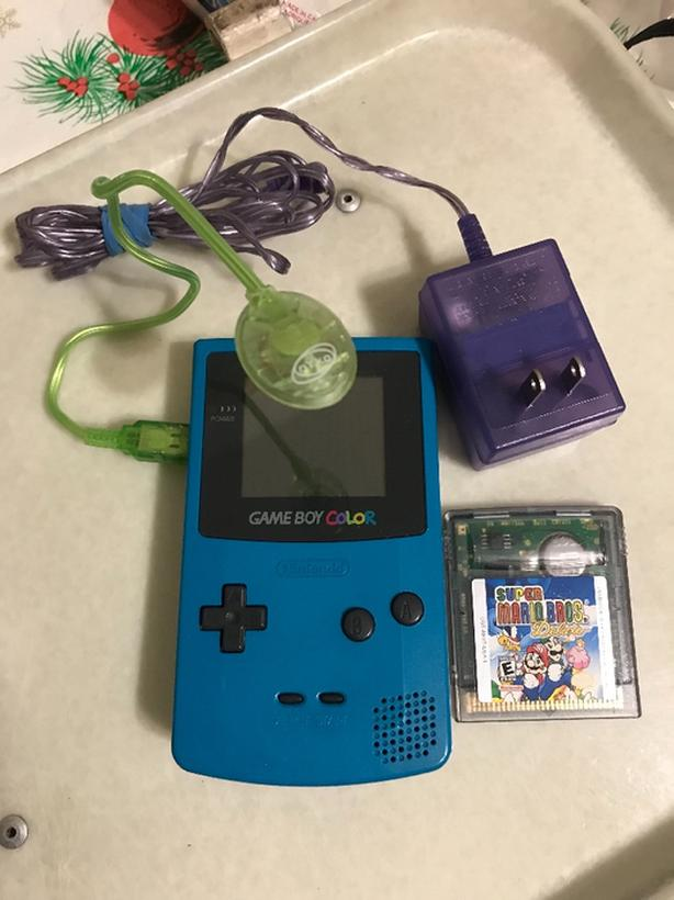 Log In Needed 60 Game Boy Colour With Worm Light