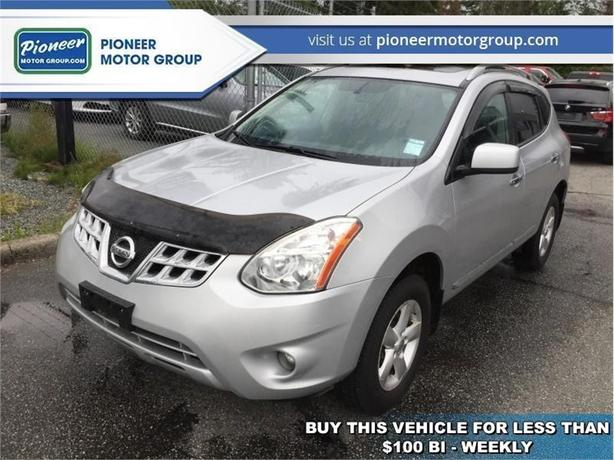 2013 Nissan Rogue S  - Sunroof -  Navigation -  Leather Seats - $96.50 B/W