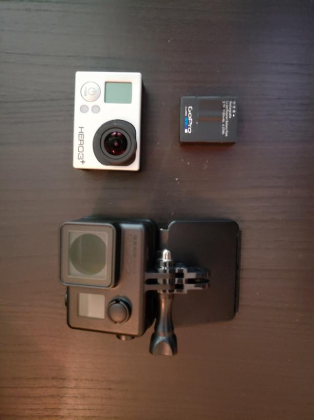 GOPRO Hero2 and Hero3+ Silver - $200 for both
