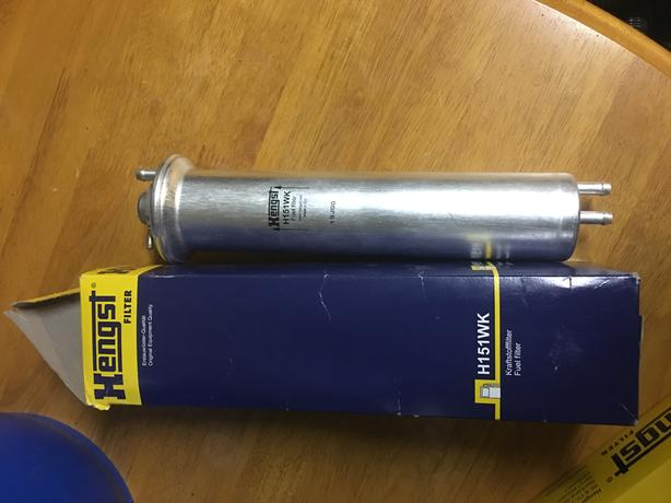 BMW air and fuel filter Saanich, Victoria X Fuel Filter on