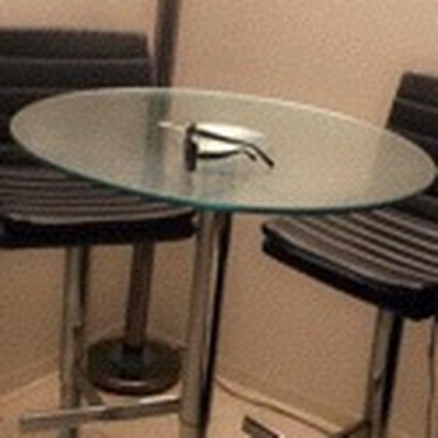 **moving sale** bistro table w/ 2 chairs