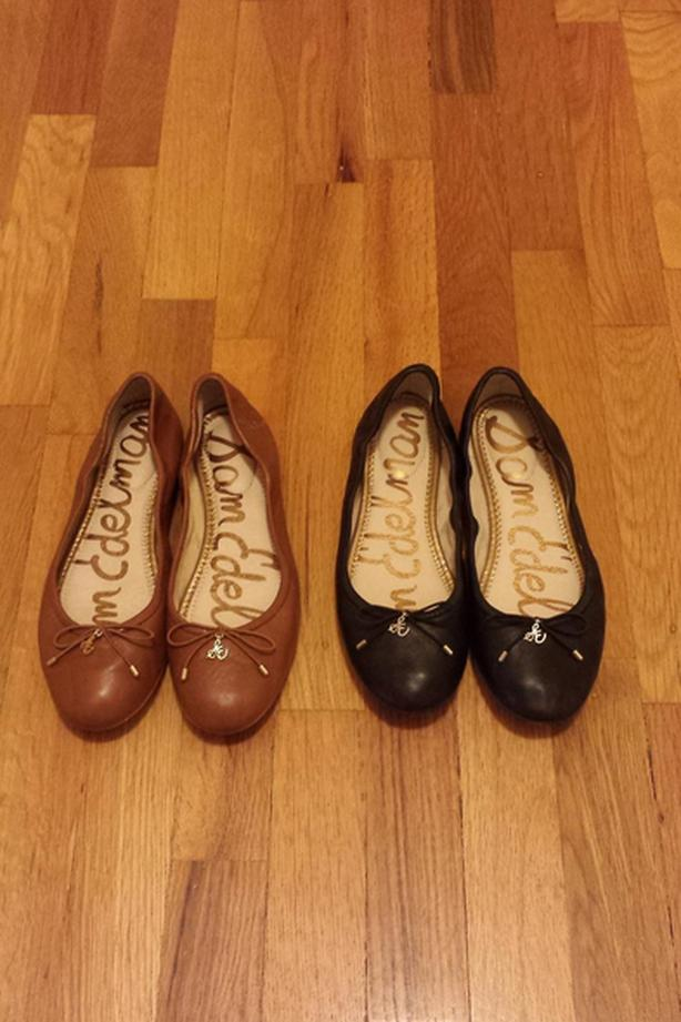 ce39c7a88 2 PAIRS OF SAM EDELMAN FELICIA LEATHER BALLET FLATS Victoria City ...