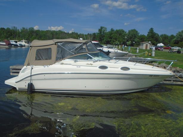 2000 SeaRay 260 Sundancer For Sale - Brokerage
