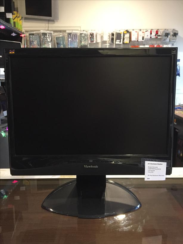 "19"" ViewSonic Computer Monitor w/ Warranty!"