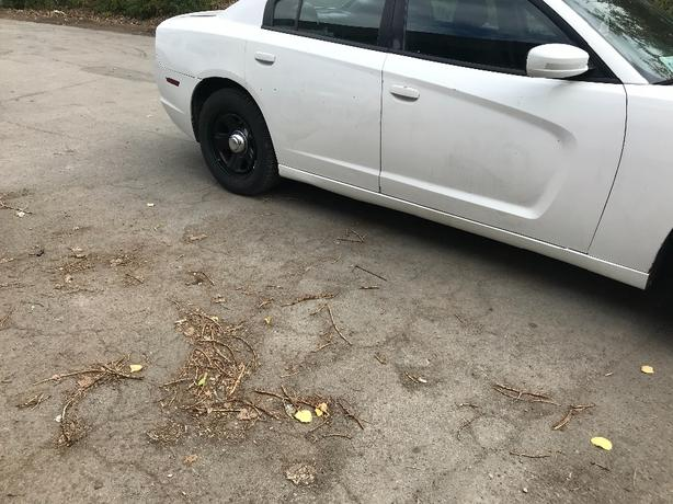 2012 dodge charger ex police as is