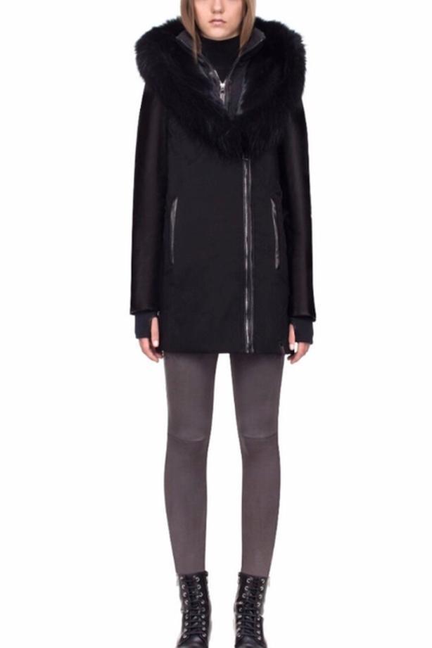 Rudsak black winter jacket (Grace)