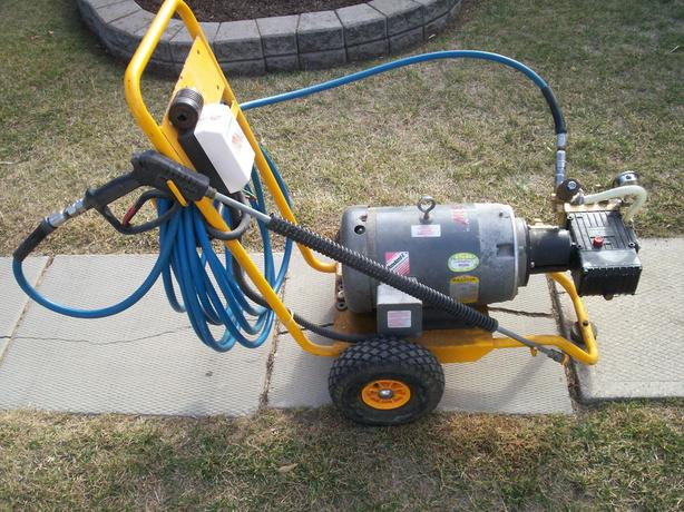 3 PHASE COMMERCIAL PRESSURE WASHER