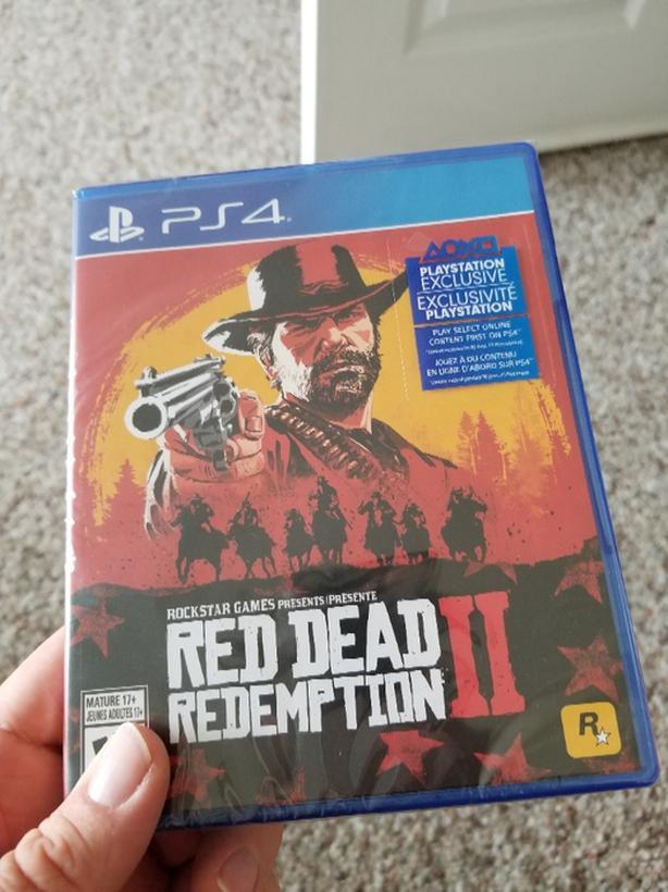 Red Dead Redemption 2 Unopened Central Saanich, Victoria
