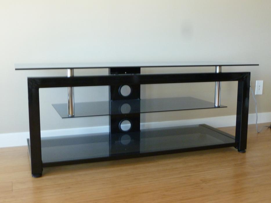 3 Shelf Glass Tv Stand Victoria City Victoria