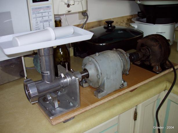 Meat Grinder and Mixer Combo - Heavy Duty homemade unit