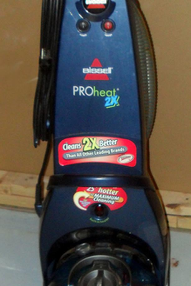 VG Condition Bissell ProHeat2x Model 9200-C 05265C Carpet Cleaner