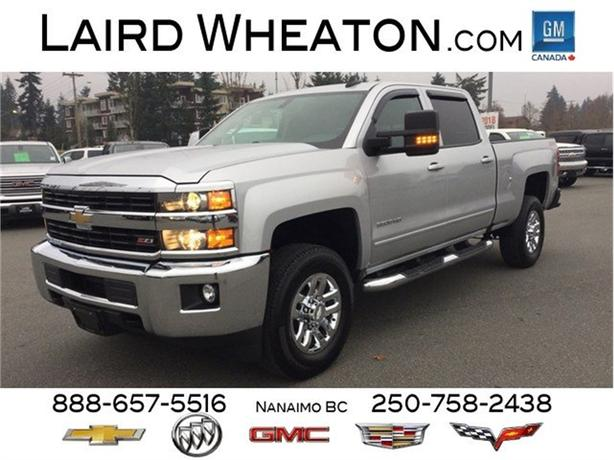 2017 Chevrolet Silverado 3500HD LT 4x4 Z71, HD Trailering Package, WiFi Hotspot