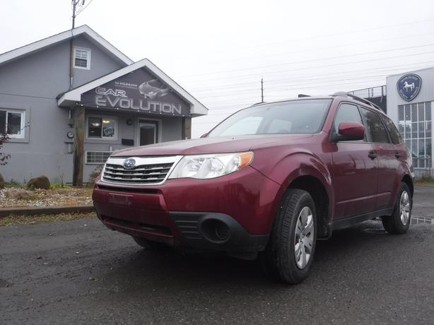 2009 Subaru Forester Premium Pkg/ONE OWNER ,CERTIFIED+WRTY $6990