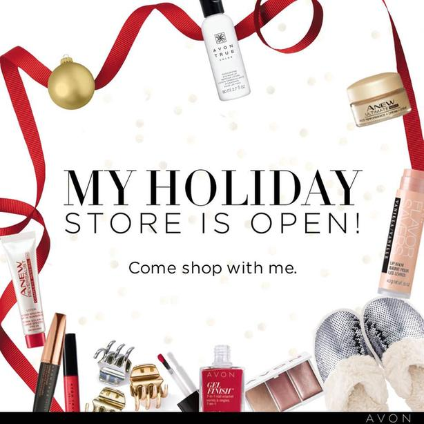 My Avon Holiday Store is Open