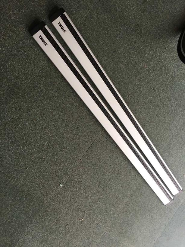 Thule Silver Aeroblade load bars – 53inches
