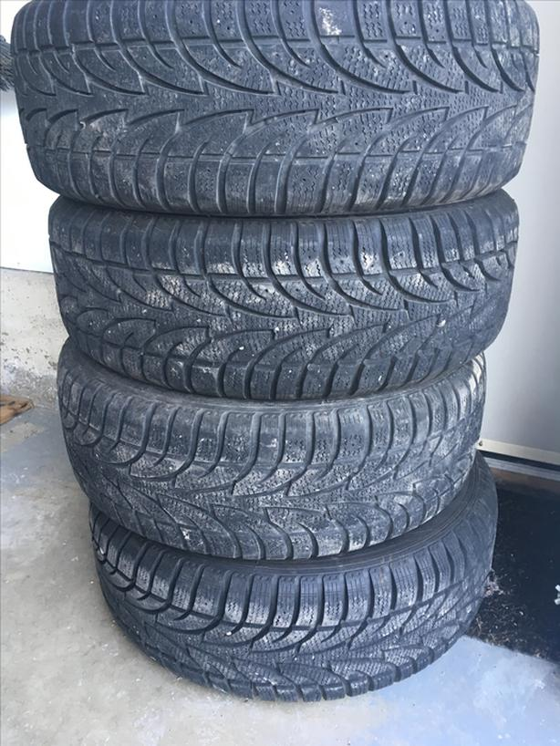 4 Winter Tires with rims 225/55R17