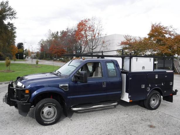 2008 Ford F-350 SD XL SuperCab Dually Service Box Truck