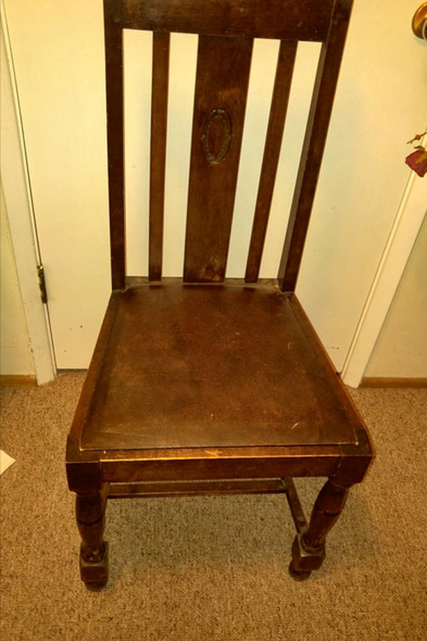 4 Real Antique Dining Chairs From Wales