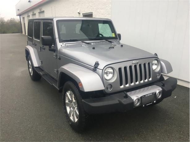 2016 Jeep Wrangler Unlimited Sahara   - Unlimited