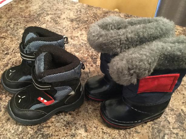 Winter boots-Baby size 4