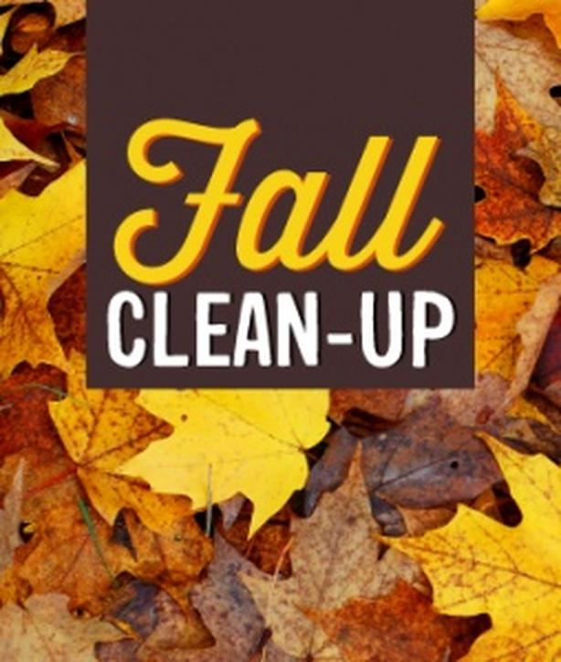 need help with the fall clean up?