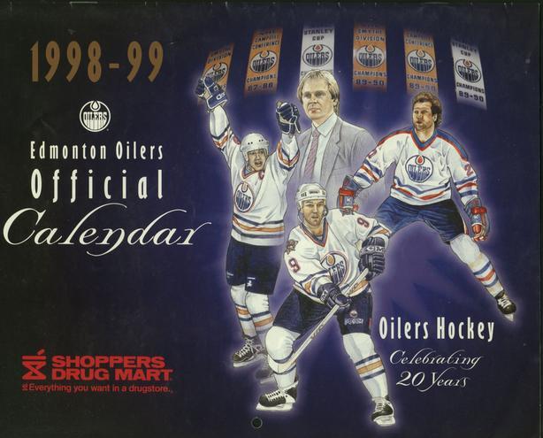 Edmonton Oilers Calendars