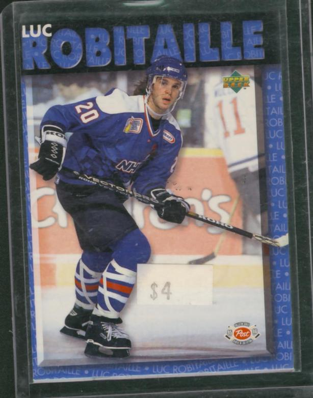95/96 Upper Deck Post  Luc Robitaille