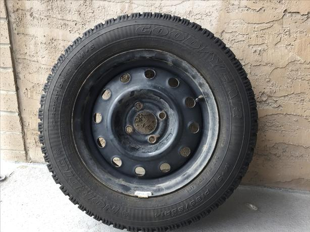 P185/65R14  - GoodYear Nordic Winter Tires