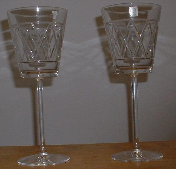 New Wine Glasses Crystal JG