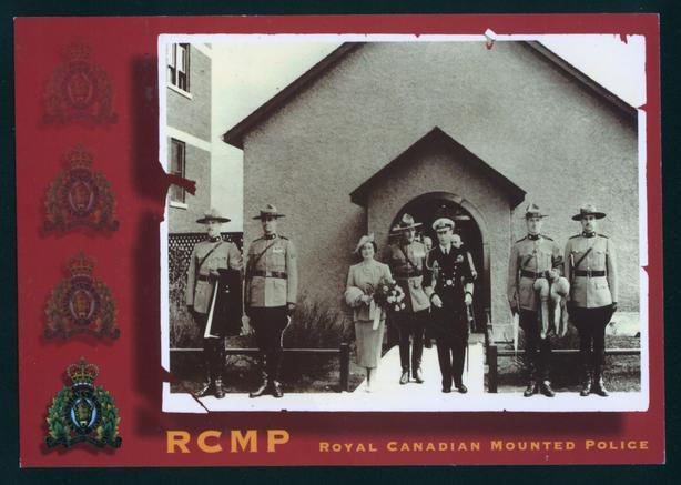 RCMP Postcard
