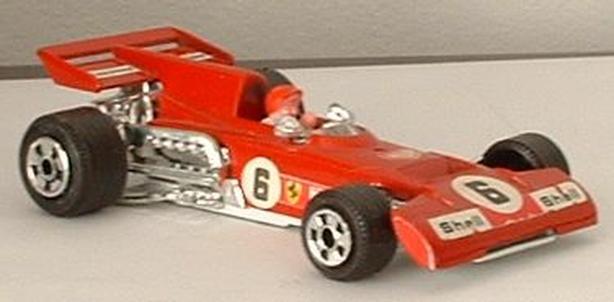1980's Formula One Car Ferrari Shell Firestone