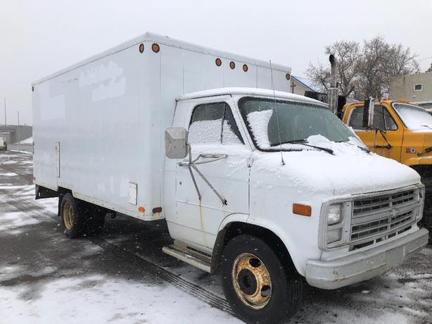 1990 Chevy 3500 Cube Van Swift Current, Regina
