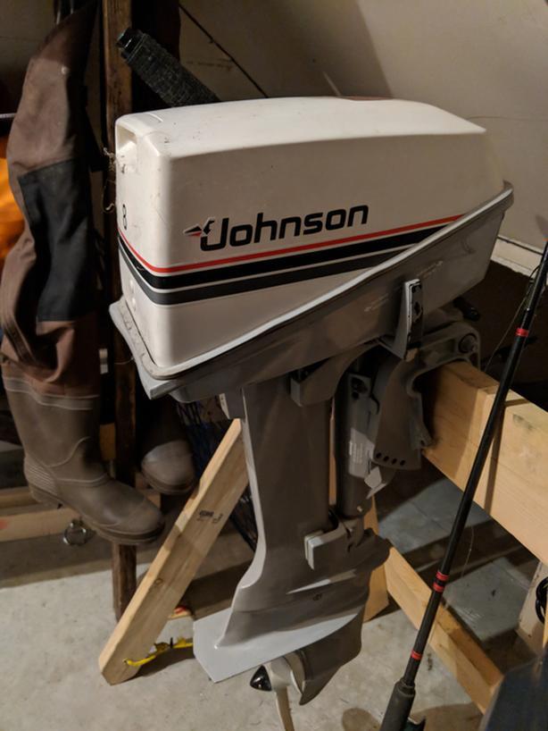  Log In needed $200 · 8hp Johnson Outboard 2stroke