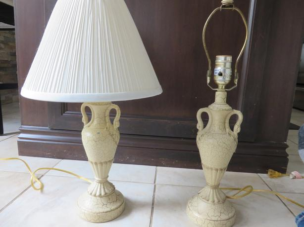 Swan Lamps