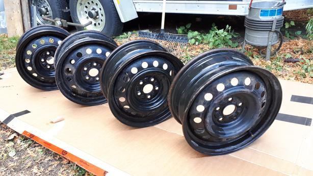 Snow Tire Rims