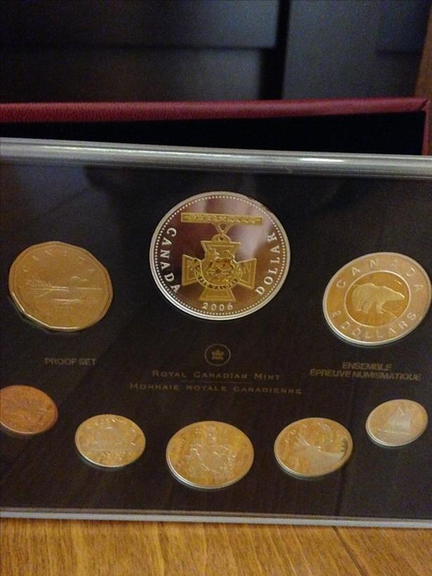 2006 Proof Set of Canadian Coinage (reduced)