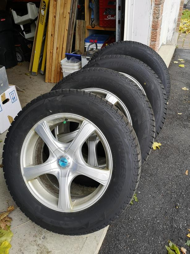 """Winter Tires and Alloy Rims Set – 18"""""""