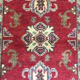 Geometric Design Red Hallway Runner 6x2