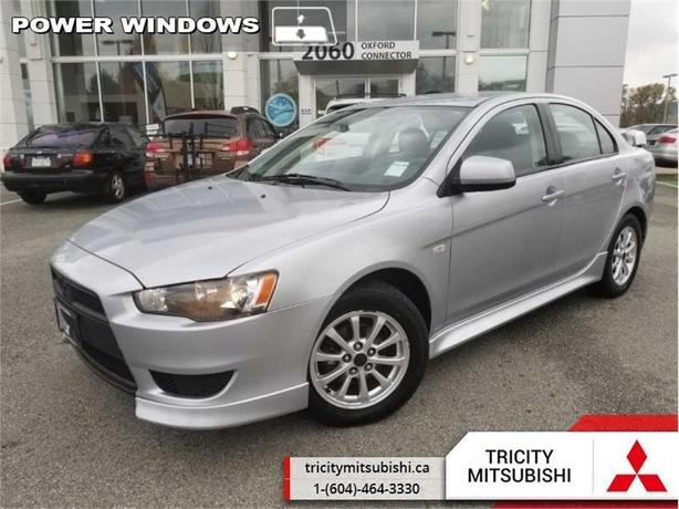 2012 Mitsubishi Lancer 4DR SDN CVT SE AWD  ALL WHEEL CONTROL-BLUETOOTH
