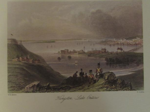 Historic Prints of Old Kingston By W.H. Bartlett 1809