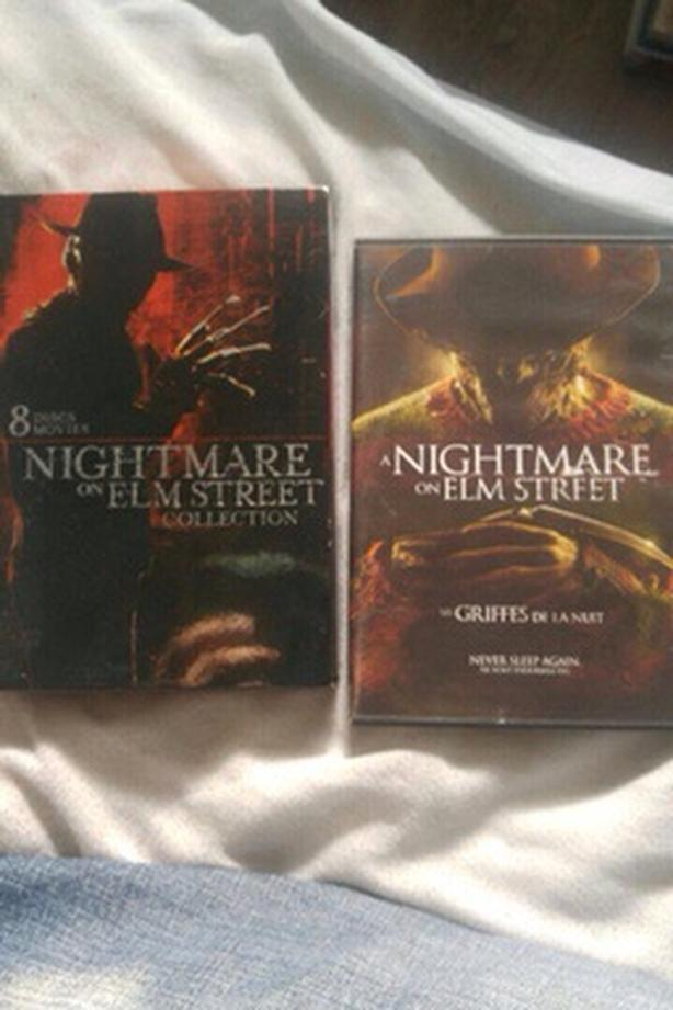 A nightmare on elm street collection plus the remake dvd