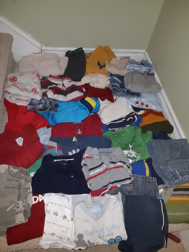 Lot of boys winter clothes 12-18 months (56 pieces)