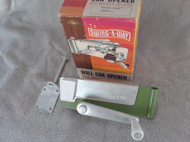 Brand New in Box Swing-a-Way Wall Mounted Can Opener