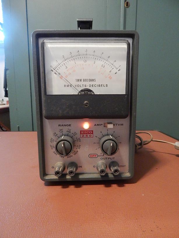  Log In needed $10 · Eico 250 VTVM Vacuum Tube Voltmeter Amp