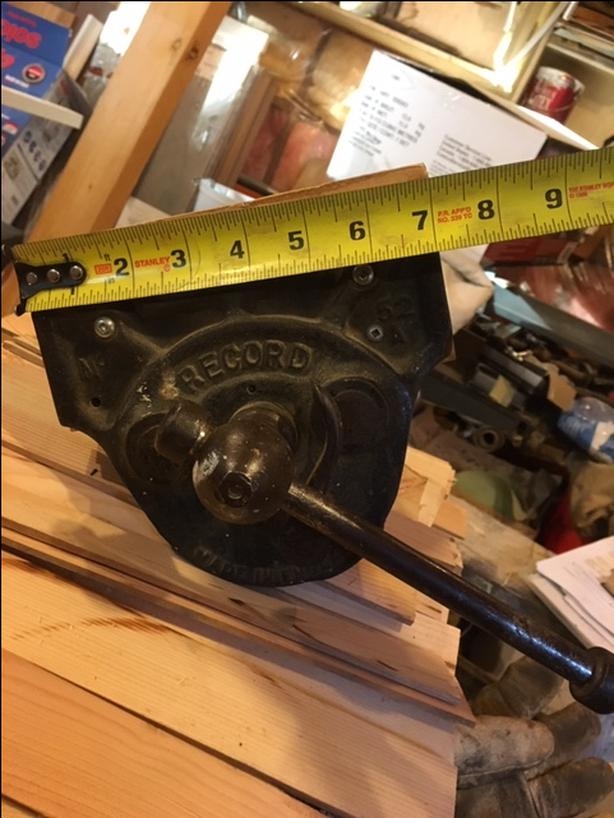 Record Woodworking Vice Saanich Victoria