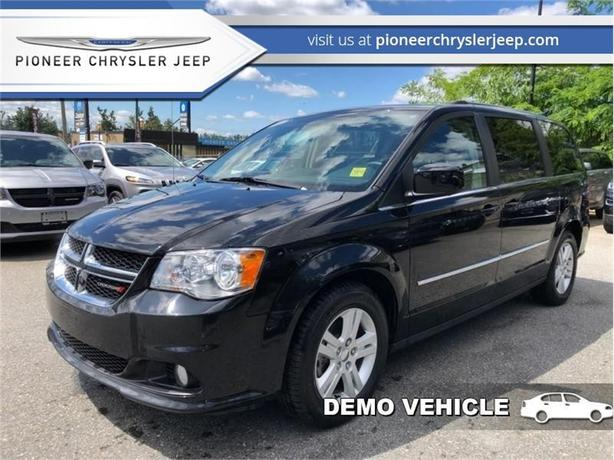 2016 Dodge Grand Caravan Crew  - Dealer Demo -Nav -Rear DVD