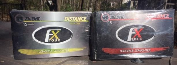 30 RAM FX Tour golf balls