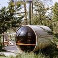 STORM WATCHING Barrel Sauna
