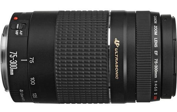 Canon EF 75–300mm f/4–5.6 III USM telephoto